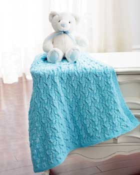 Free Vintage Knitting Patterns For Baby Blankets : Miss Julias Patterns: Free Patterns - 16 Baby Blankets to Knit & Cro...