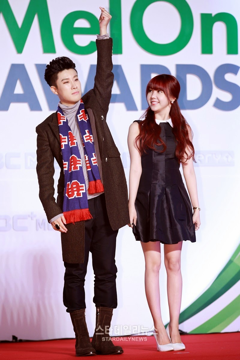 San E Raina 2014 Melon Music Awards