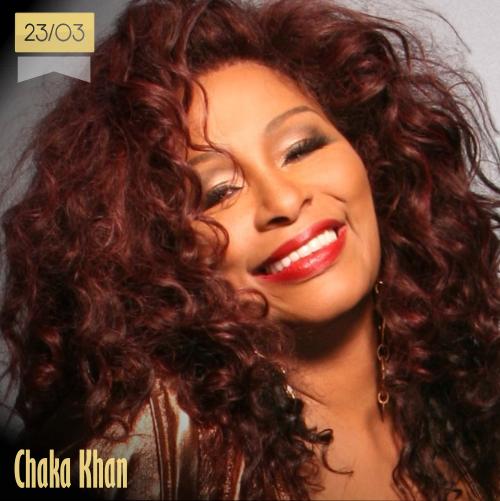 23 de marzo | Chaka Khan - @ChakaKhan | Info + vídeos