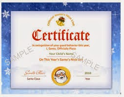 make certificates in word