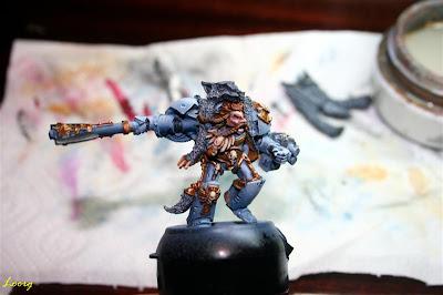 Warhammer Logan Grimnar de frente