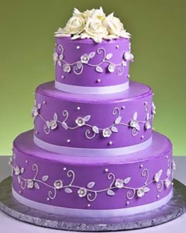 Purple Colour Cake Images : Party Boutique Canc?n: El morado como tono principal en la ...