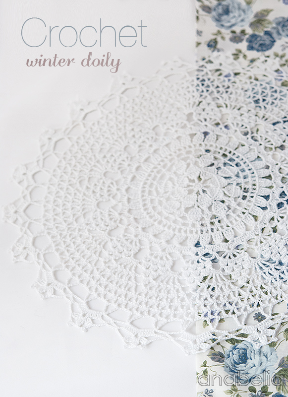 Anabelia craft design: Crcohet winter doily free pattern, a gift and ...
