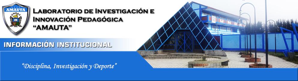 LIIP AMAUTA - Información Institucional
