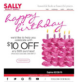 February Sally's Coupon