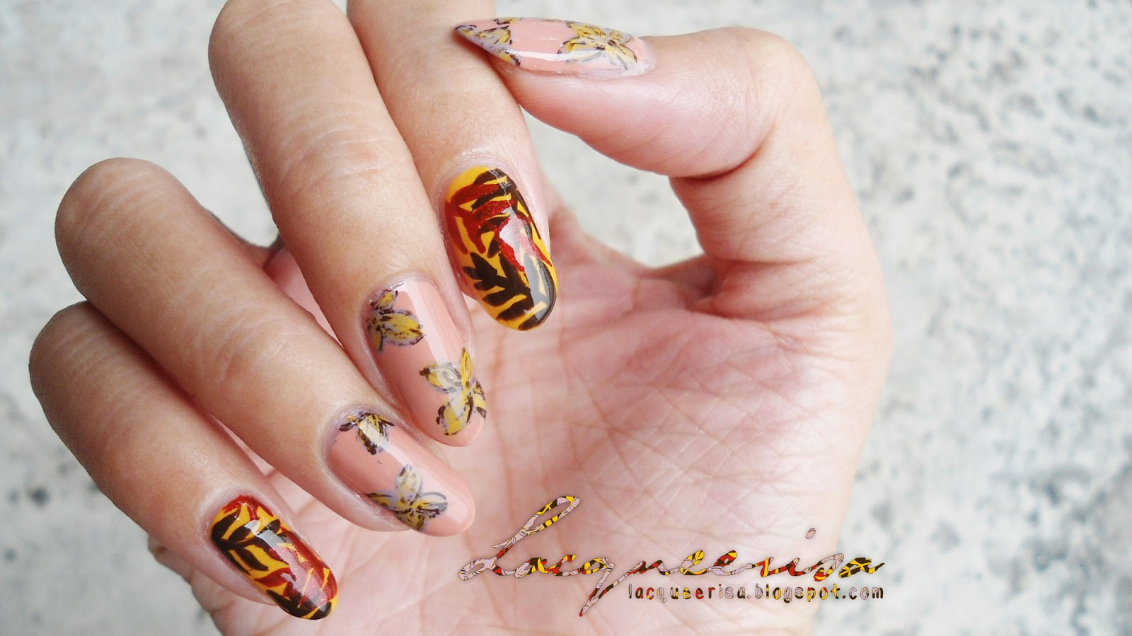 Lacqueerisa: Spring/Fall Nail Art