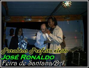 Atual Prefeito de   Feira de Santana - Bahia