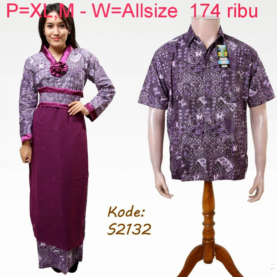 Baju Batik Pasangan Modern Model Trendy Model Baju Batik