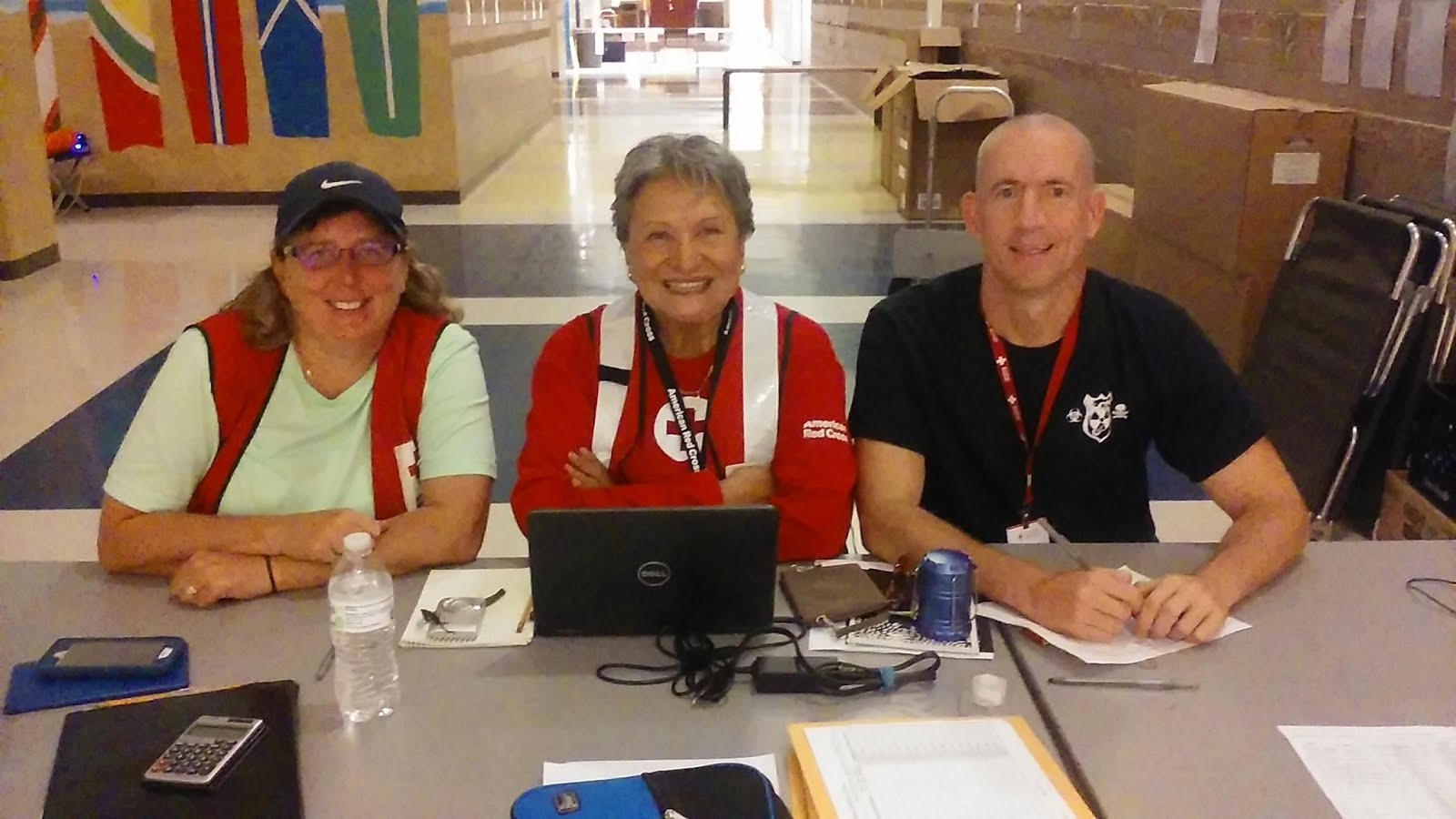 American Red Cross Deployment to North Carolina Hurricane Florence DR 711-19