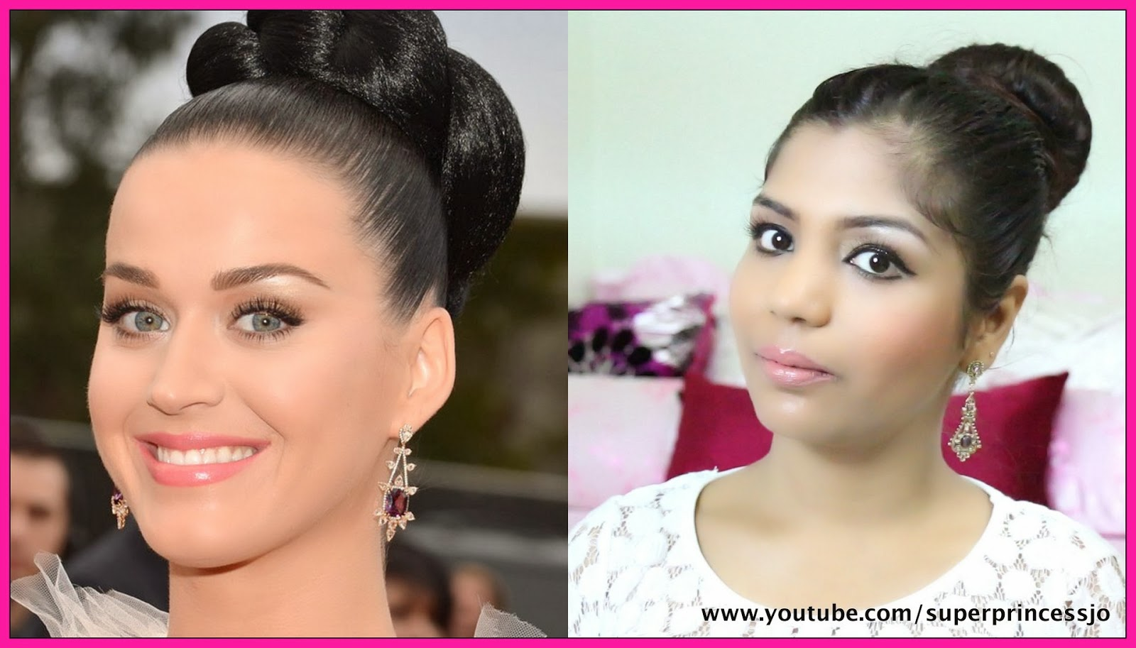 Superprincessjo Best Dressed Celebrity Grammys 2014 Katy Perry Makeup How To Do Katy Perry Grammys Makeup Look