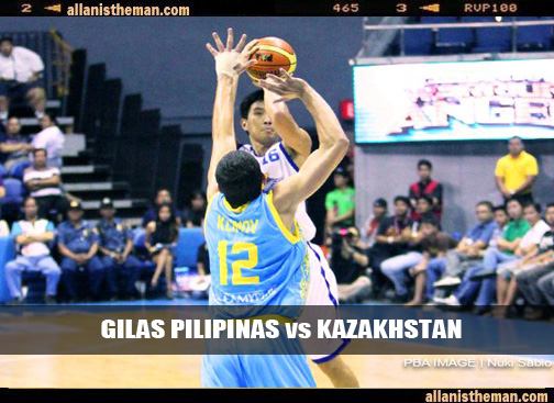 Gilas Pilipinas vs Kazakhstan Game Replay