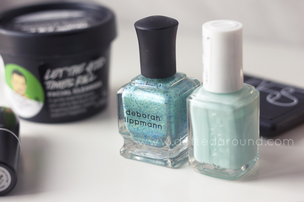 deborah lippmann mermaid essie mint