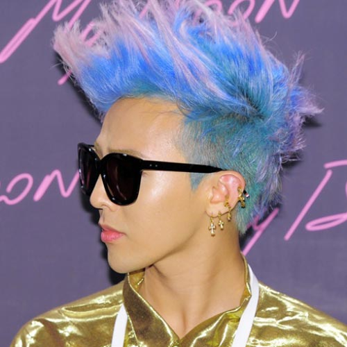 G dragon latest hair color