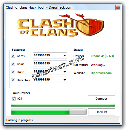 clash of clans hack tool clash of clans hack cheat tool details