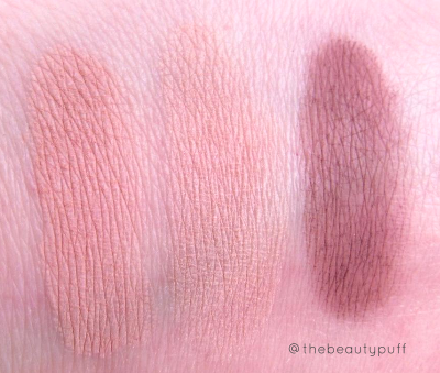 rejuva minerals swatches - the beauty puff