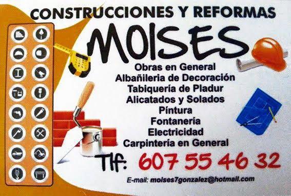 MOISES CONSTRUCCIONES Y REFORMAS