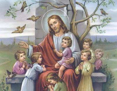 Resultado de imagem para levaram crianças a Jesus, para que impusesse as mãos sobre elas