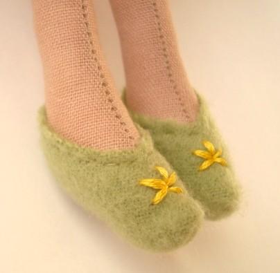 туфельки для тильды