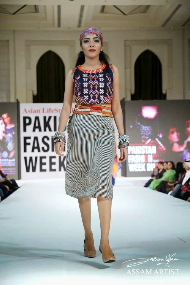 Arabian Clothing Trend In PFW Dubai