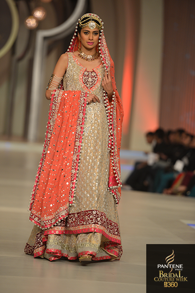 Feeha in Zainab Chotani, Pantene Bridal Couture Week 2013,Pakistani Model