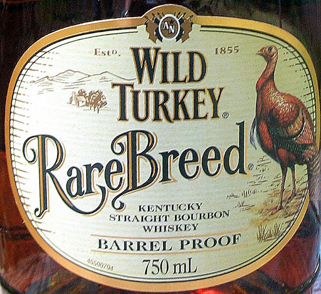 Wild Turkey Rare Breed label.