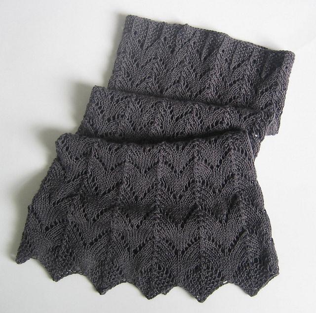 patron tricot dentelle
