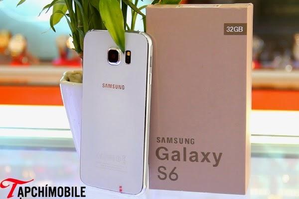 Vỏ hộp của Samsung Galaxy S6 nhái