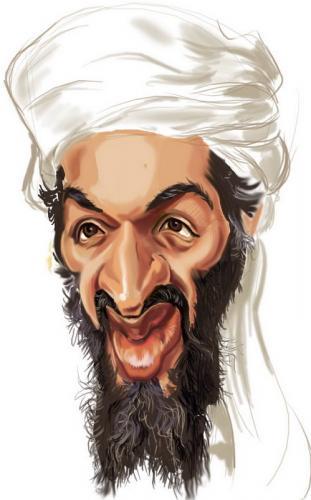 Osama in Laden second from. the Osama bin Laden