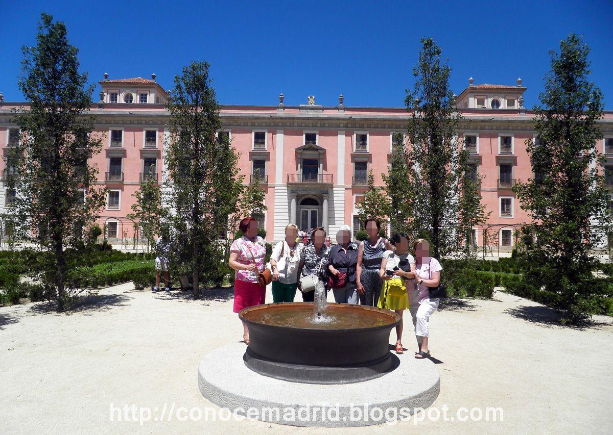 Conocer madrid jardines del palacio del infante don luis for Jardines 29 madrid