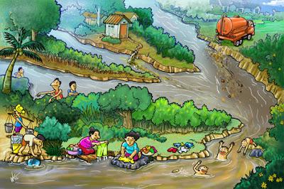 Pengertian dan Sumber Pencemaran/Polusi