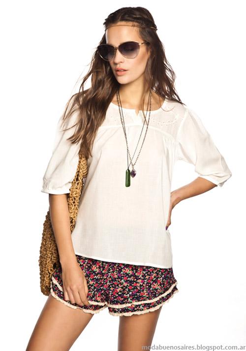 Shorts verano 2015 moda mujer primavera verano 2015.