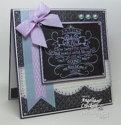 ODBD Chalkboard - Amazing Grace Designer Angie Crockett