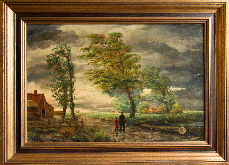 De bree kunstschilder 4 - Foto van slaapkamer schilderij ...