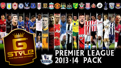 PES 2014 EPL FULL GDB PACK by G-Style