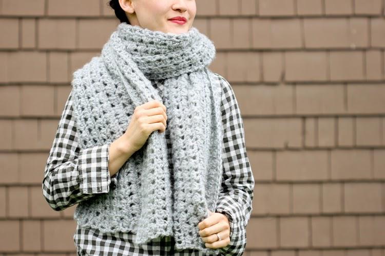 free crochet pattern shawl scarf