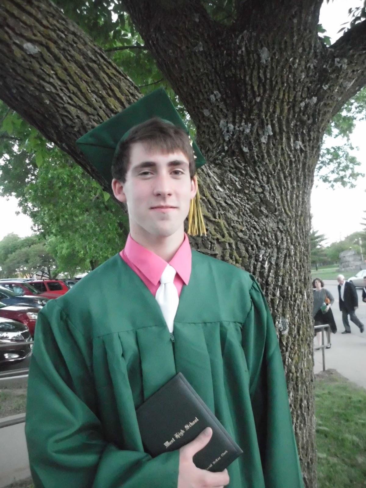 Daniel McKay Clark graduated high school and we are so proud of him