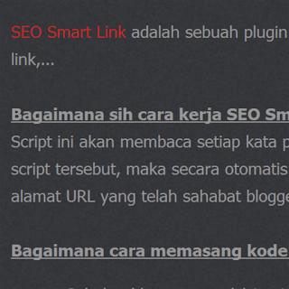 SEO SMART LINK