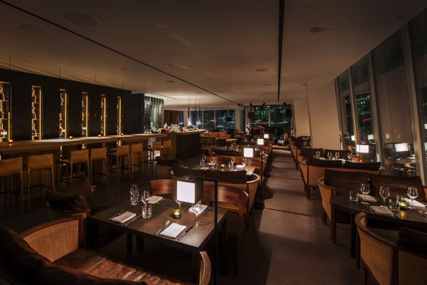Richard southall architectural photographer oblix for Restaurants at the shard