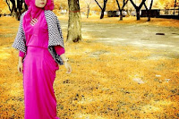 Beautiful Pink Hijab
