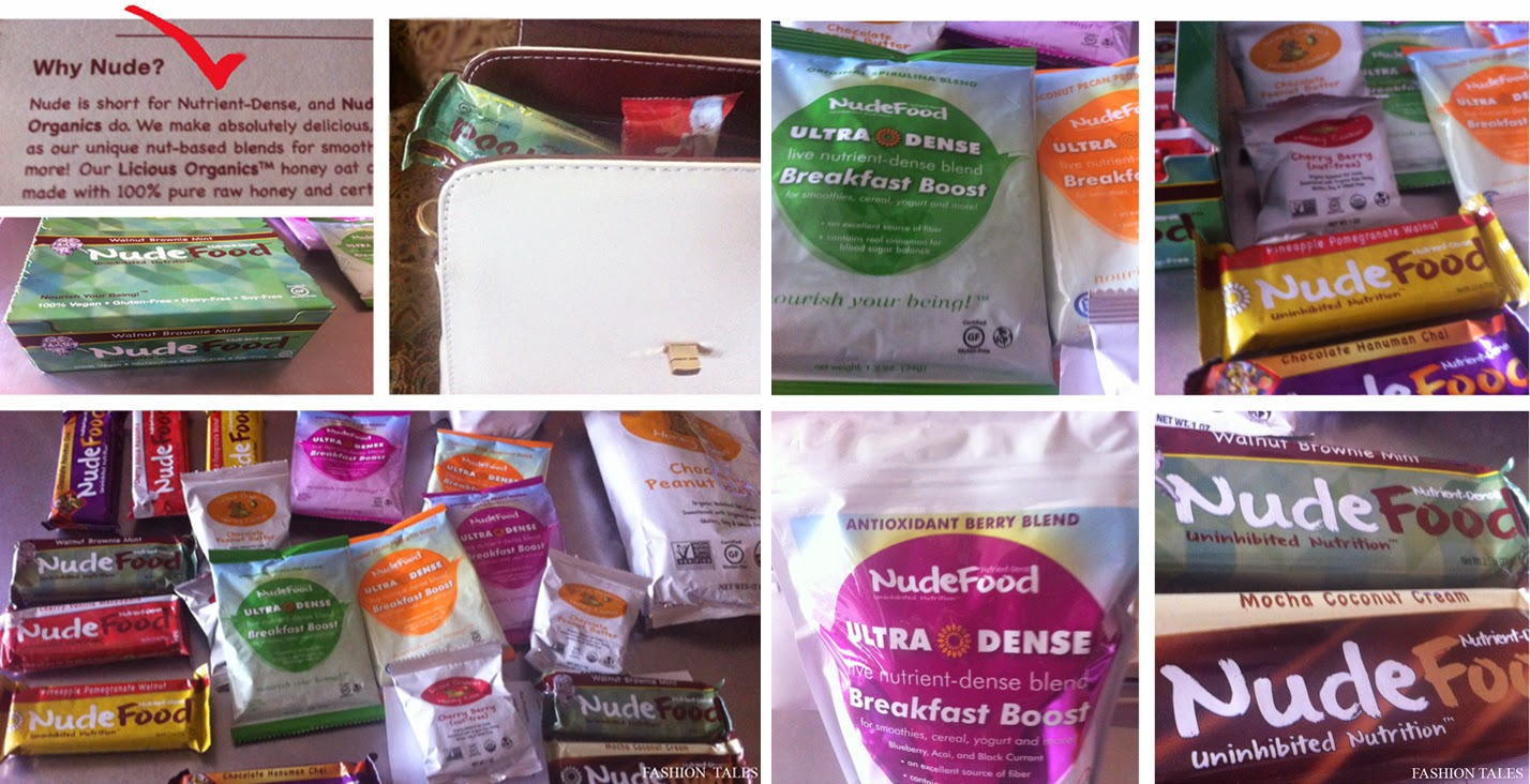 Smart Travelling Vegan NudeFood
