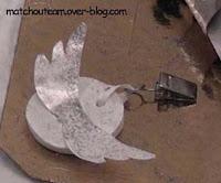 poids de nappe ailes d'ange