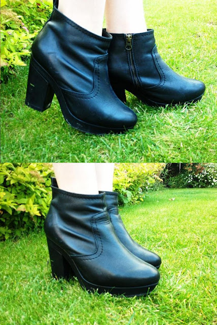 midheels leather Topshop