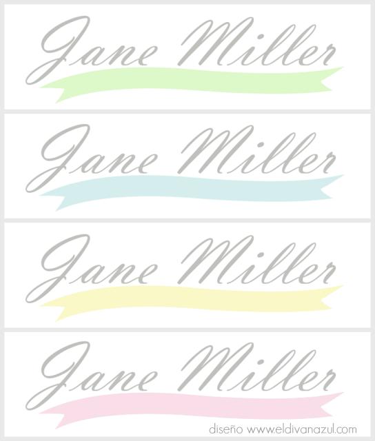 logo gratuito Jane Miller