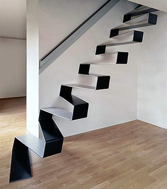 Unique Stairs Design Anti Slide