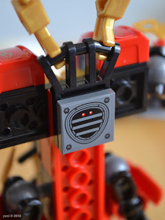 lego ninjago - back detail... also, that sticker is hell crooked