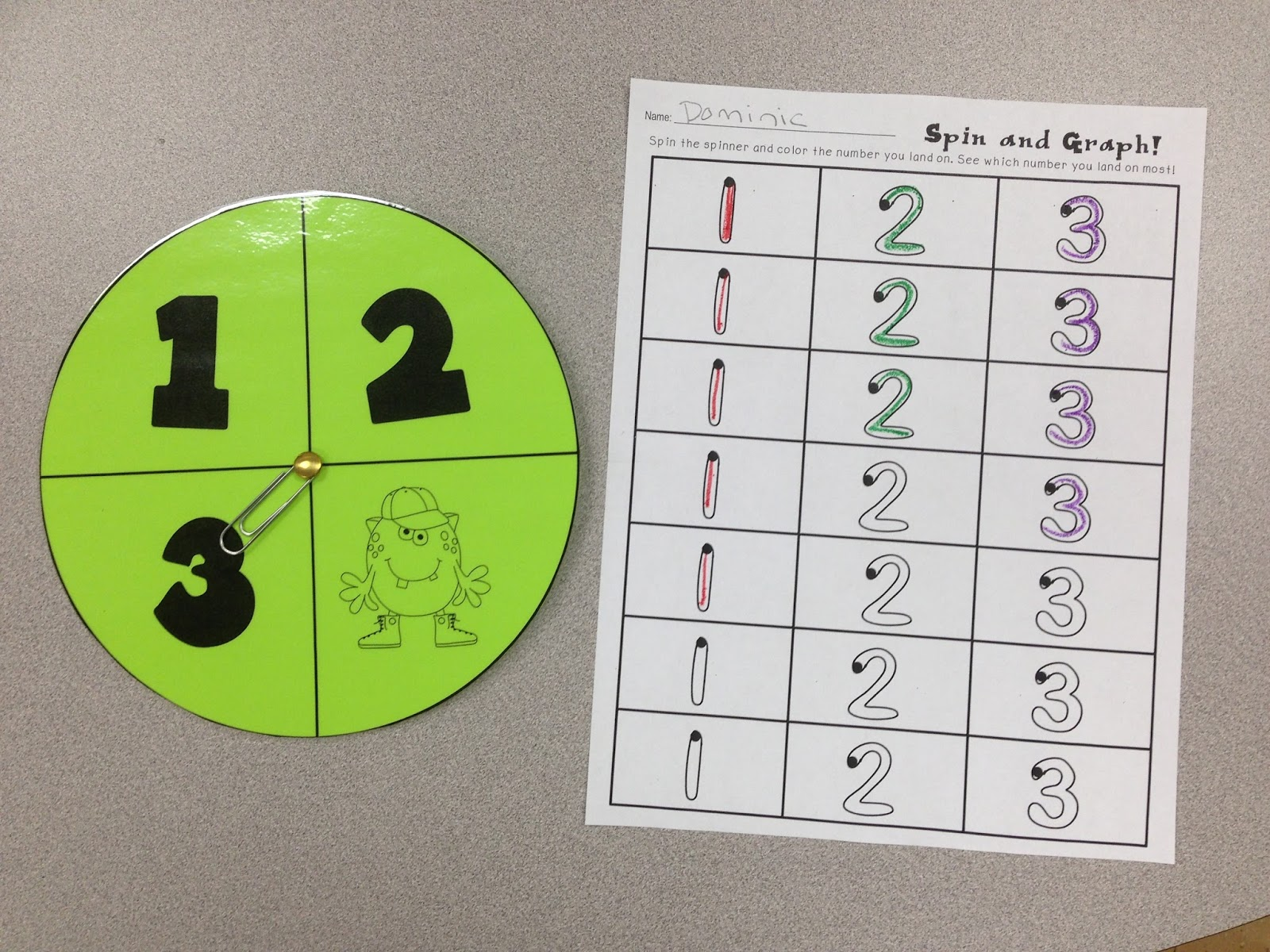 A Spoonful of Learning: September Math & Literacy Centers!