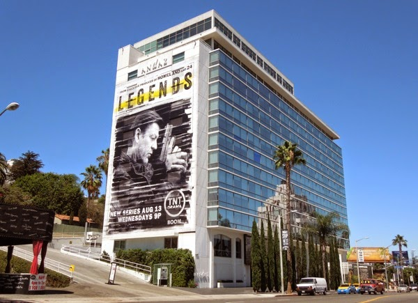 Giant Legends series premiere billboard Sunset Strip