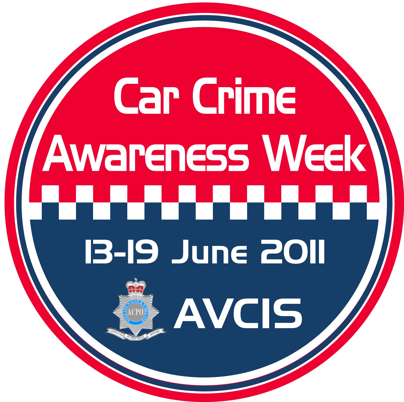 AVCIS Car Crime Awareness Week Logo