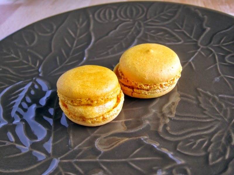 Review: Trader Joe's - Pumpkin Macarons | Brand Eating