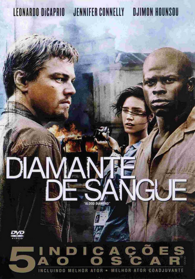 Filme Diamante de Sangue Dublado AVI BDRip